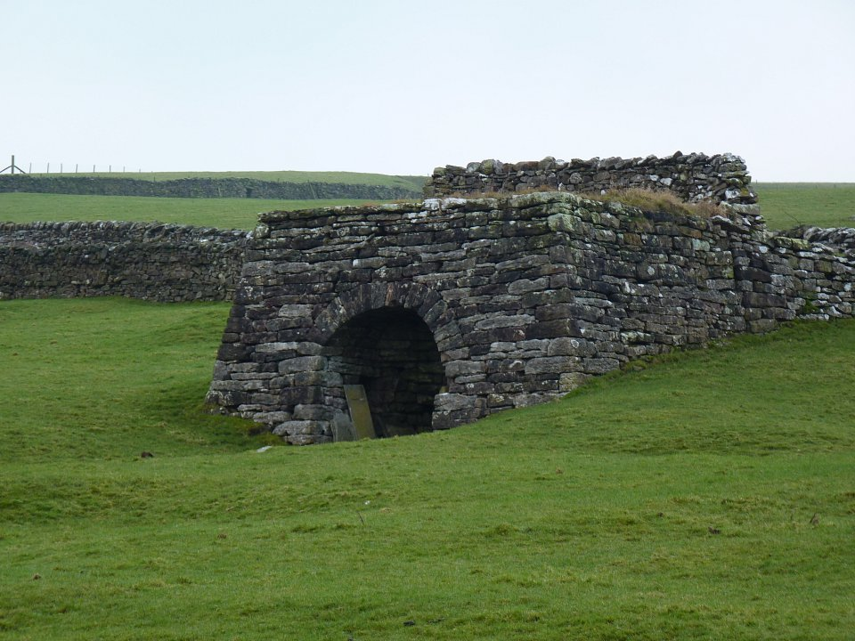 Photo: traditional lime kiln in Cumbria